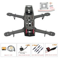 250mm Carbon Fiber 4 Axis Mini Quadcopter + Naza V2(GPS) & EMAX MT1806 & EMAX Simonk 12A ESC