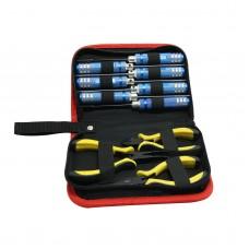 10 in1 Hex Screw Driver Pliers Tools Set for RC heli plane Car Align JR Futaba