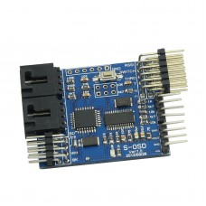 S-OSD iOSD Remzibi OSD Module with Flight Mode for DJI NAZA Lite/V2 GPS vs N-OSD