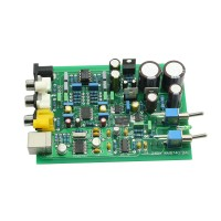 WM8740 + DIR9001 DAC Board Support Coaxial and USB Input