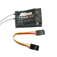 FrSky Futaba FASST Compatible TFR8SB Rx Frsky 8CH Receiver with RSSI and SB Ports
