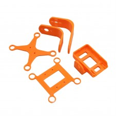 3D Printed 2 Axis Brushless Gimbal Camera Mount Frame Kit only for Camera Mobius 808 FPV