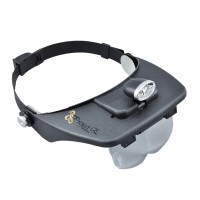 LED Magnifying Head Light Lamp Magnifier Lens Dental Loupe Lab Glass Salon
