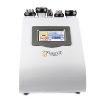5in1 Vacuum Cavitation Bipolar Tripolar Multipolar RF Dissolve Fat Loss Machine