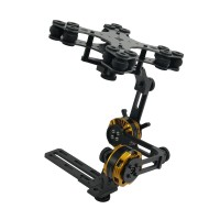 Aluminium Alloy Mini DSLR 2 Axis Brushless Gimbal Camera Frame Kit for NEX5/6/7 FPV Photography