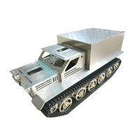 MYROBOT TRUCK-430 Metal Smart Car Track Model Truck  Robot Remote Control Tank