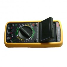 DT9205A Large Screen Foldable Digital Multimeter Can Automatic Power Off w/ Standard Meter Pen