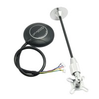 Ublox NEO-M8N Flight Control GPS Accuracy 1M with Folding Holder for APM 2.6/ 2.8 Pixhawk
