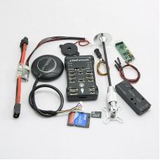 Pixhawk PX4 2.4.6(2.4.5) 32 bit ARM Flight Controller & M8N GPS/4G TF Card/Mini OSD/PM/Folding Holder for RC Multicopter