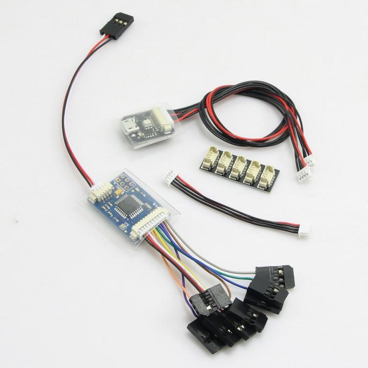 PPM Encoder Module & LED Indicator Module & I2C Splitter