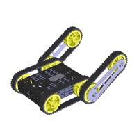 Finder Robot DG012-RP Cross Avoidance Track Smart Car Assembled Chassis