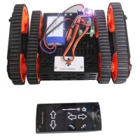 Finder Robot DG012-RP Cross Avoidance Track Smart Car Assembled Chassis & Control Board & Lipo Battery Charger