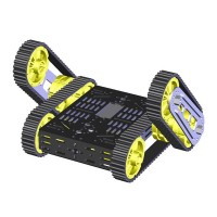 Finder Robot DG012-RP Cross Avoidance Track Smart Car Assembled Chassis & Control Board & PS2 Charger