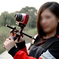 MR-V1 HD Video Shooting Stabilizer Shoulder Holder Accessories for Handheld DSLR
