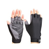 SHalf Finger Sunscreen Gloves Antislip Cycling Bicycle Glove Outdoor Shooting