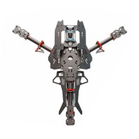 Reptile Mosquito Y4 400mm 3-Axis Carbon Fiber Tricopter Frame Kit