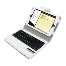 Ipad 2//3/4 Pad Protection Case Wireless Silver Bluetooth Keyboard