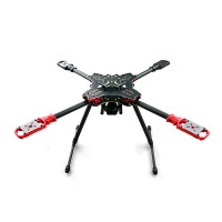 HMF U580 Quadcopter Umbrella Structure Folding Frame w/ High Landing Gear & Gimbal Hanging Rod for FPV Photography