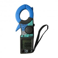 KT-55 Clamp Ammeter AC Current DC Voltage Tong Head Has LED Light