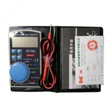 WHDZ DT10A Ultra-thin Design Pocket-size Digital Multimeter Electrical Tester