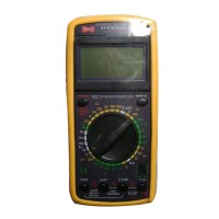 DT 9208A Probe Leads Multi Tester Digital Multimeter Test Equipment AC DC