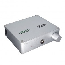 Finished High-end E15 Class A Tube K214 Field Headphone Amplifier with Full Aluminum Case