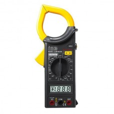 MASTECH M266C Multimetro Digital AC Clamp Meter DC Voltage Resistance Tester Detector with Diode
