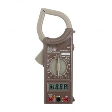 MASTECH M266F Digital AC Clamp Meter AC Current Resistance Tester Diode On-off Frequency Detector Multimeter
