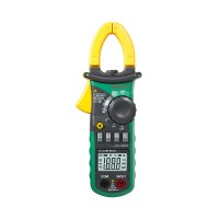 Digital AC Current Clamp Meter Multimeter AC DC Voltage Resistance Meter Tester MS2008A