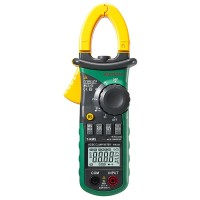 Mastech MS2108 Digital Clamp Meter True-rms Inrush Current 66mF Capacitance Frequency Measurement