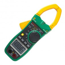 MASTECH MS2138 Digital Clamp Multimeter AC/DC Amperemeter AC DC Clamp Meter 4000 Counts Electrical Current Voltage Tester