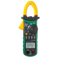 MS2208 Harmonic Power Factor Clamp Meter Multimeter TRMS KVA KVAr PF