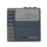 MASTECH MS5209 Pointer Ground Resistance Tester Analog Earth Resistance Tester Meter 10ohm to 1000ohms Low Power
