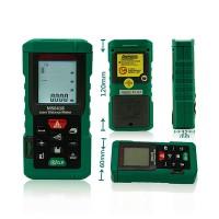 MASTECH Digital 80m Distance Meter Bubble level Laser rangefinder Range Finder Tape Measure Area/Volume MS6418