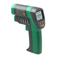 Mastech MS6540B Non Contact Infrared Thermometer -32C-1050C 25.6F-1922F 30:1 0.1C 60ms C/F vs FLUKE