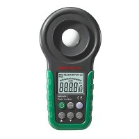 Mastech MS6612 Digital Luxmeter Illuminometer Light Meter Foot Candle Auto Range Peak 200000 Lux