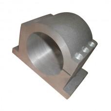 65mm Bracket Seat CNC Carving Machine Clamp Motor Holder Cast Aluminum Sandblasting Surface Match Use 65mm Spindle Motor