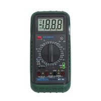 MASTECH MY64 Digital Multimeter AC/DC Voltage Current HZ Frequency Temperature Tester Meter