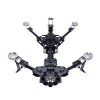 Hornet Carbon Fiber Folding AIO Alien Quadcopter w/ 2 Axis Brushless Gimbal for FPV Photography