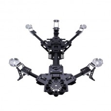 Hornet Carbon Fiber Folding AIO Alien Quadcopter w/ 3 Axis Brushless Gimbal for FPV Photography