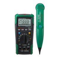 MASTECH MS8236 Digital Auto Range Multimeter LAN Tester Net Cable Tracker Tone Telephone line Check Non-contact Voltage Detect