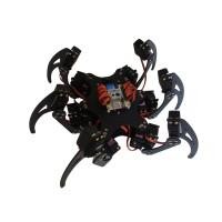Aluminium Hexapod Spider Six 3DOF Legs Robot Frame with 18 Servo Horns for Arduino