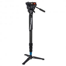 Coman KX3535 Monopod Carbon Fiber DSLR Gimbal for Photography w/ Hydraulic Pressure