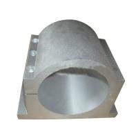 110mm Bracket Seat CNC Carving Machine Clamp Motor Holder Cast Aluminum Sandblasting Surface Match Use
