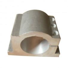 62mm Bracket Seat CNC Carving Machine Clamp Motor Holder Cast Aluminum Sandblasting Surface Match Use 62mm Spindle Motor