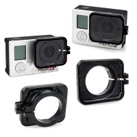 Gopro Hero4/3/3+ Accessories Wide Angle UV Lens Glass Protective Cover Multi Colors