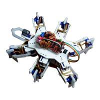 Plastic Hexapod Spider Mini Devlelopment Platform RC Robot Kits Enhanced Version for Beginners