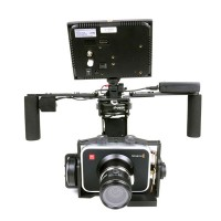 BetView BMCC 3-axis Camera Stabilizer Handheld Brushless Camera Stabilizer w/ Aerial Convesiont Kit