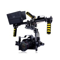 G25 3 axis Brushless Handheld Gimbal for Video Photography w/ Motors & Controller