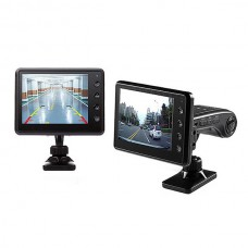 3..5 inch HD Dual Camera Video Taping 3 in 1 Wireless Video Backing Car DVR